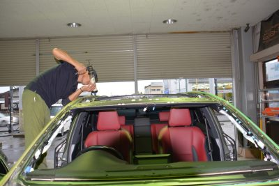 レクサスNX自動車ガラス交換