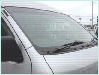 UVカット自動車ガラス